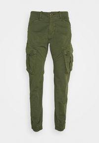 SPY PANT - Cargo trousers - dark olive
