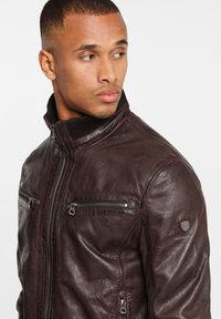 Gipsy - GBFALK  - Leather jacket - dark brown - 3