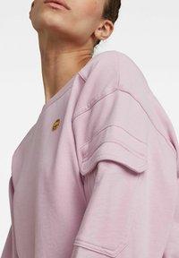 G-Star - BOAT NECK - Sweatshirt - lavender pink - 2