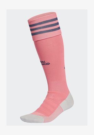 REAL MADRID KNEE - Sports socks - pink