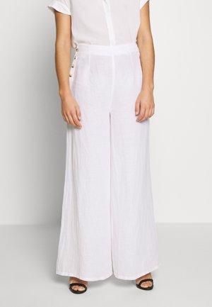 SONITE - Kalhoty - white