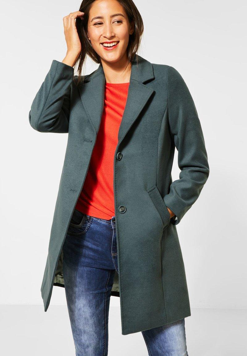 Street One - Classic coat - grün