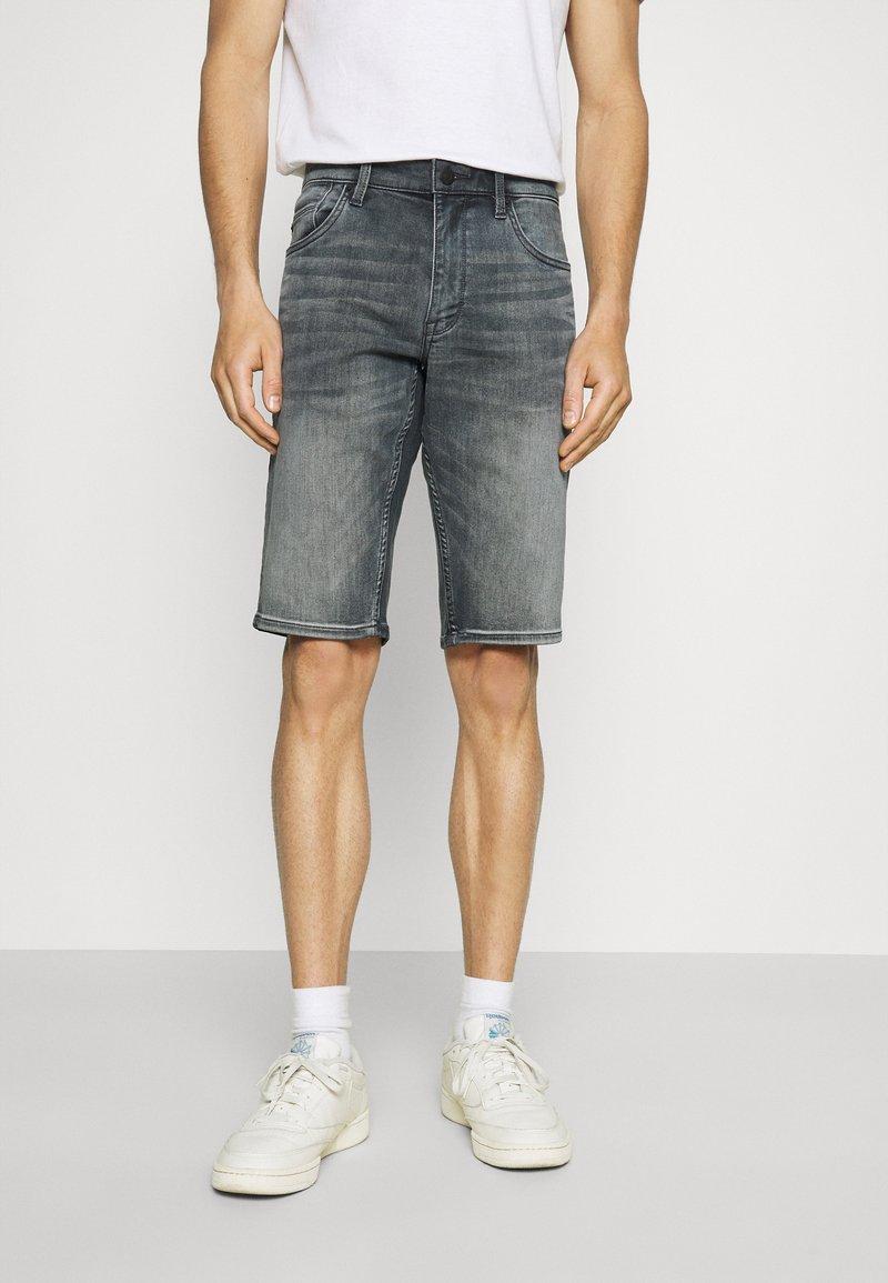 s.Oliver - Denim shorts - dark grey