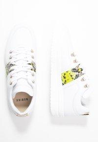 Nubikk - YEYE MAZE BLOCK PYTHON - Sneakers basse - white - 3