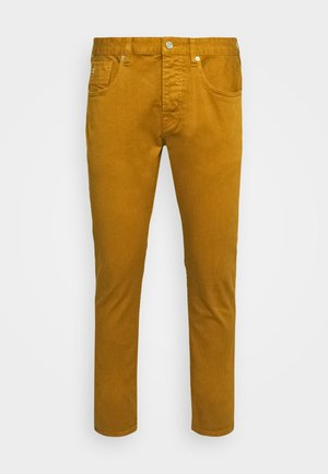 DYED COLOURS - Slim fit jeans - tobacco