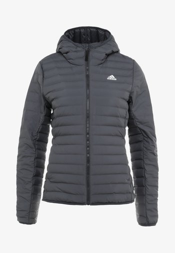 VARILITY SOFT HOODED OUTDOOR DOWN JACKET