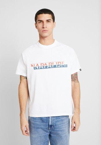 SIRE - T-shirt med print - bright white