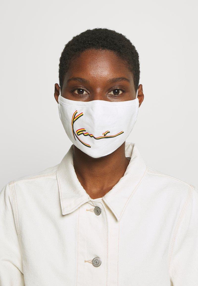 Karl Kani - SIGNATURE FACE MASK - Community mask - white