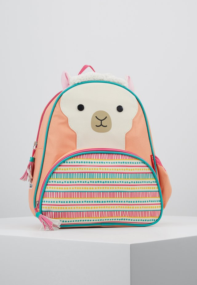 ZOO BACKPACK LLAMA - Ryggsekk - multi