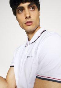 Ben Sherman - SIGNATURE - Polo shirt - white - 4