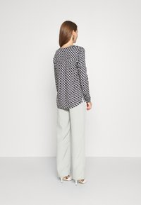 comma casual identity - LANGARM - Blouse - blue - 2