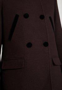 NAF NAF - CHARLOTTE - Zimní kabát - prune - 4
