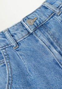 Mango - SLOUCHY - Jeans Straight Leg - middenblauw - 2