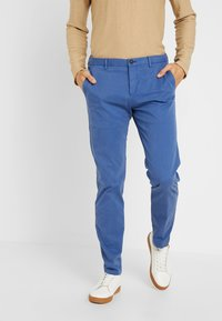 Tommy Hilfiger Tailored - PANTS - Chinos - royal blue - 0