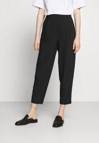 Bruuns Bazaar - CINDY DAGNY PANT - Chino kalhoty - black - 0