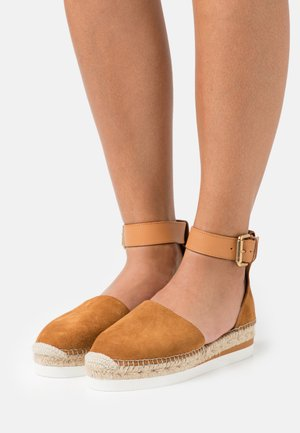 GLYN - Espadrilles - light pastelbrown