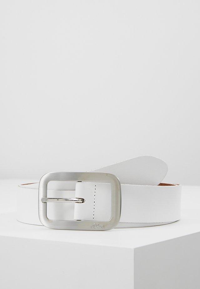 Cinturón - woolwhite
