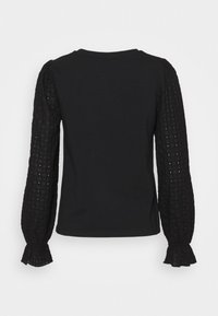 Pieces - PCLIZZIE  - Long sleeved top - black