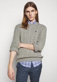 Polo Ralph Lauren - CABLE - Jumper - fawn grey heather - 3