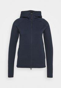Peak Performance - CHILL ZIP HOOD - Fleece jacket - blue shadow - 0