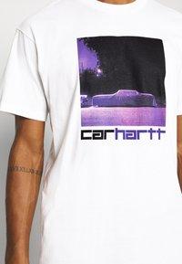 Carhartt WIP - CAR - T-Shirt print - white - 4