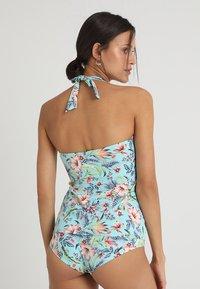 Esprit - SOUTH BEACH TANKINI PADDED - Bikini top - turquoise - 2