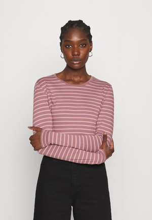 ESNA TEE - Long sleeved top - rose/elderberry