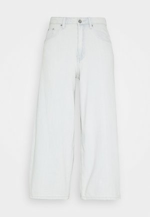 CROP WIDE LEG JASMINE - Straight leg jeans - light denim