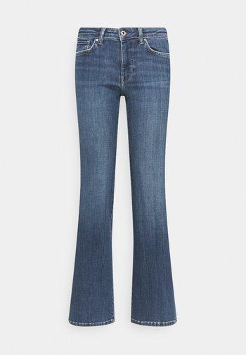 AUBREY - Flared Jeans - denim
