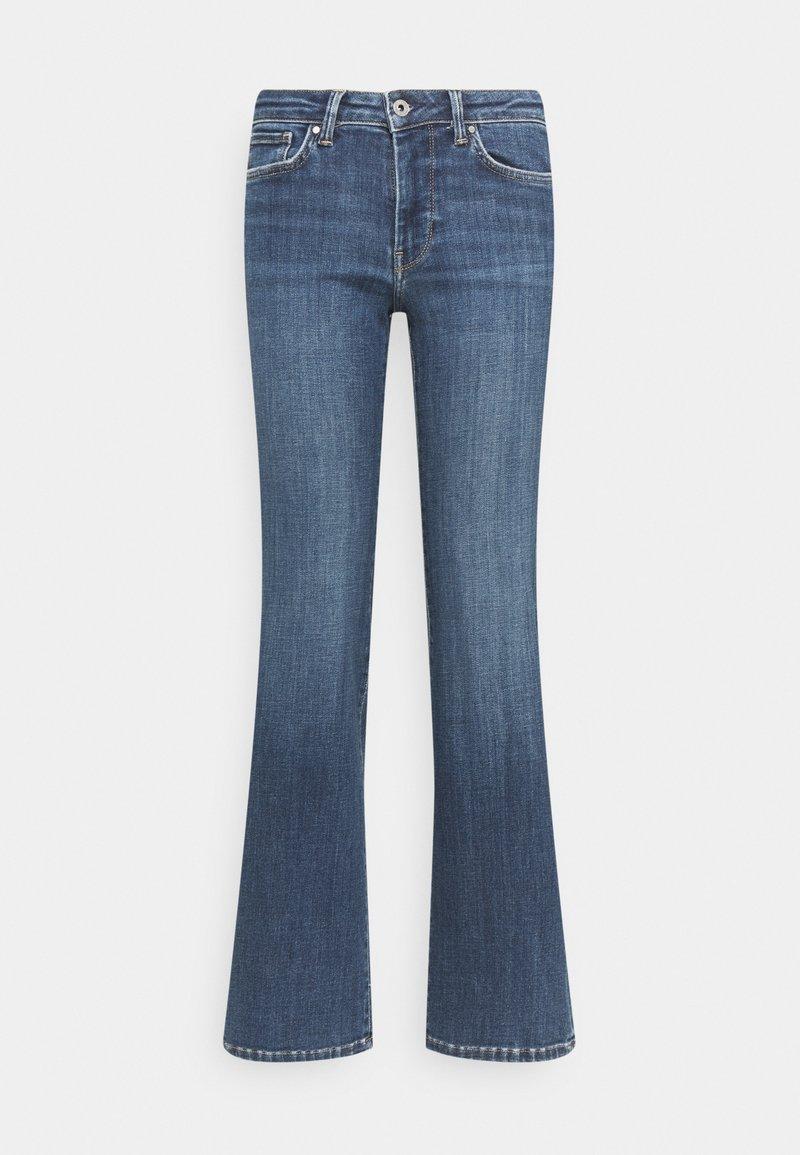 Pepe Jeans - AUBREY - Flared Jeans - denim