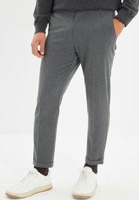Trendyol - PARENT - Pantalon classique - grey - 0