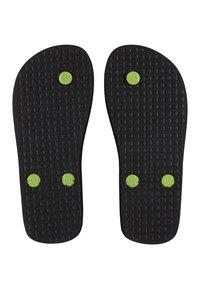 DC Shoes - T-bar sandals - black/lime - 3