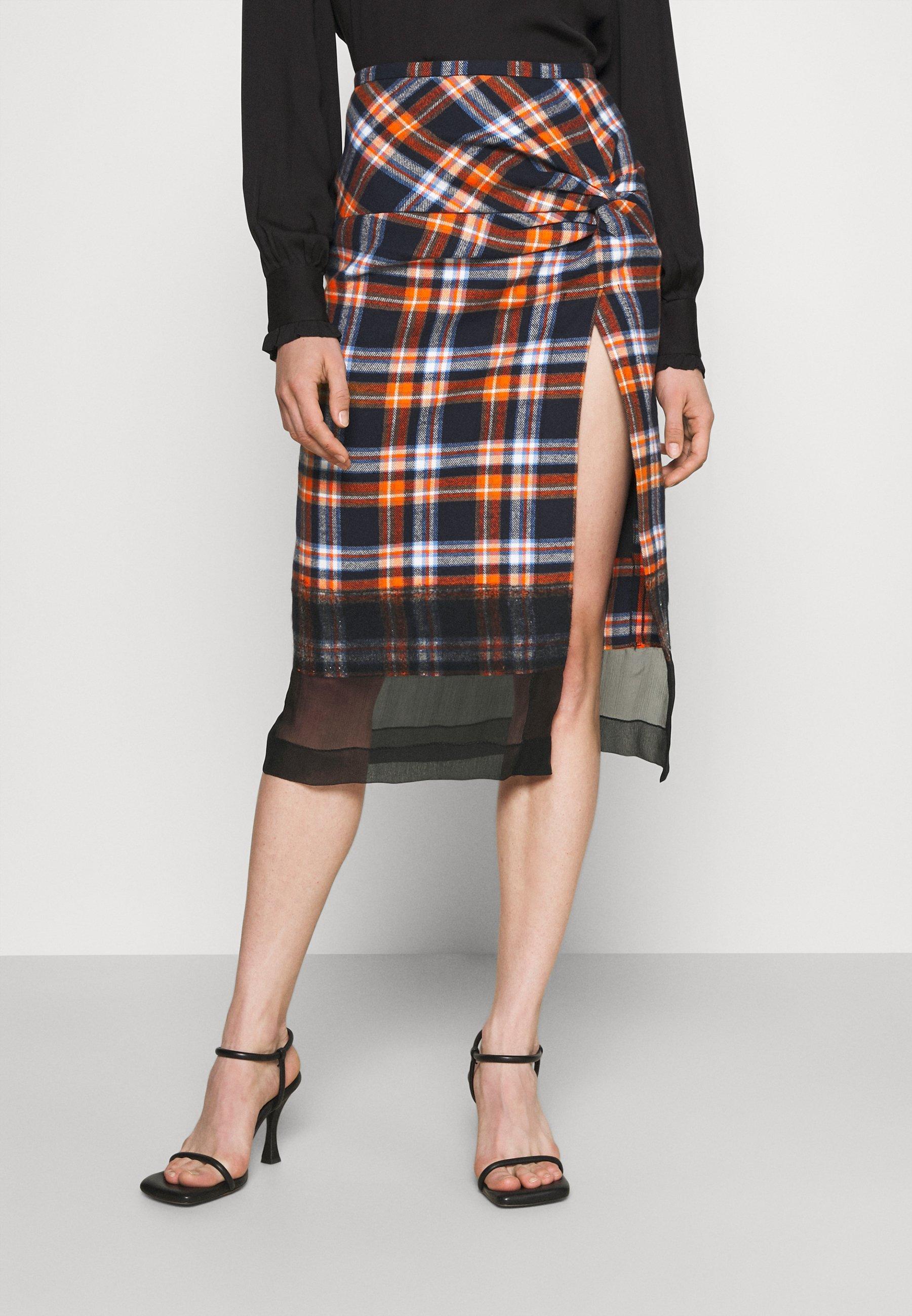 Women GONNA TESSUTO - A-line skirt