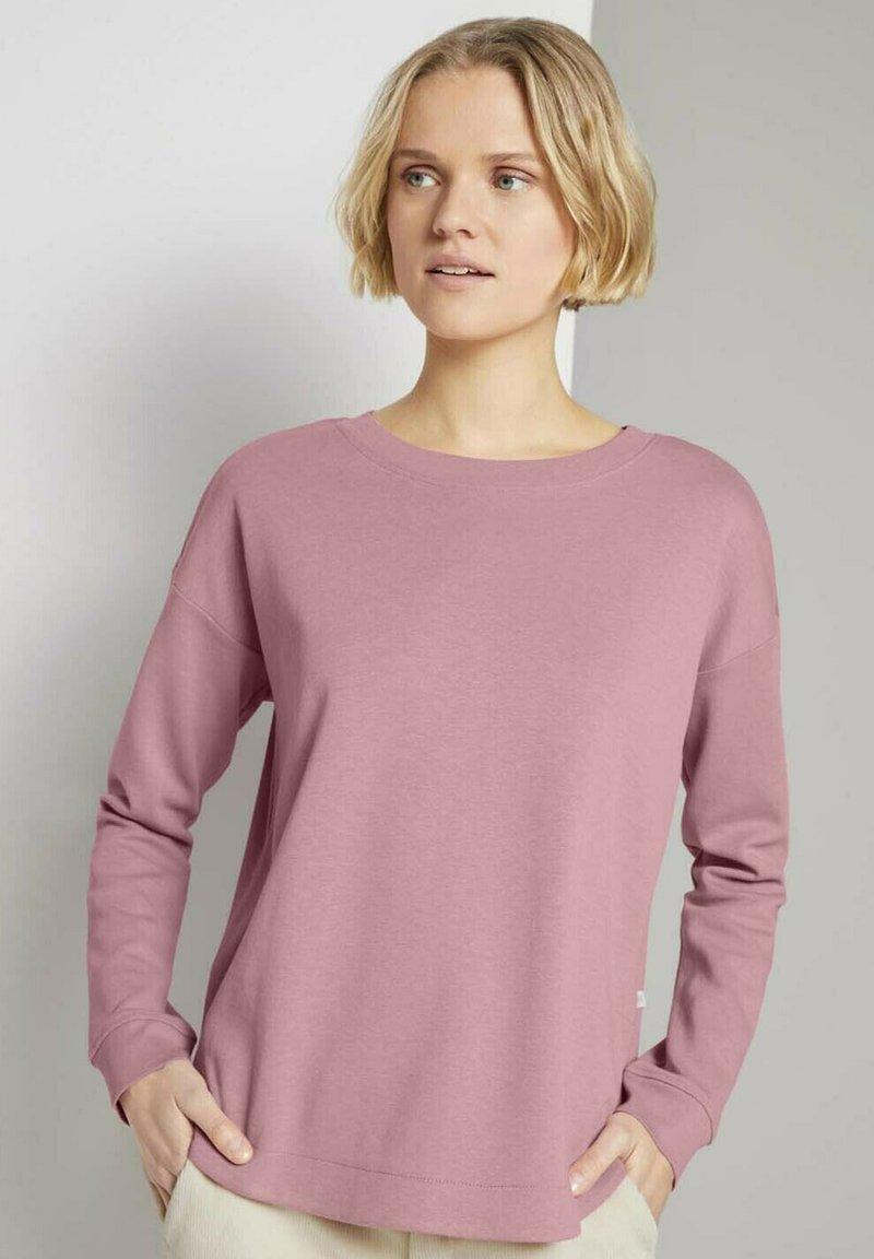 TOM TAILOR DENIM - Sweatshirt - cozy rose