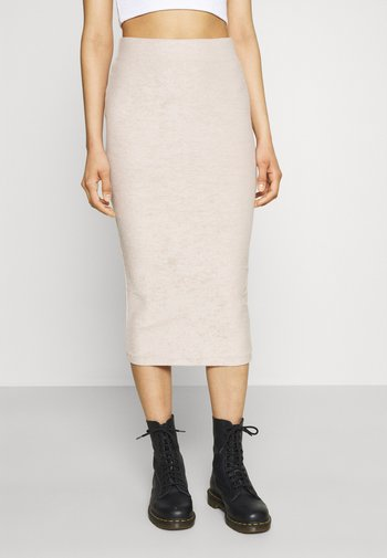 SEVGI SKIRT - Pencil skirt - chateau gray