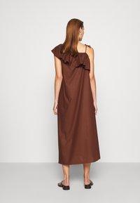 ARKET - DRESS - Day dress - brown dark - 2