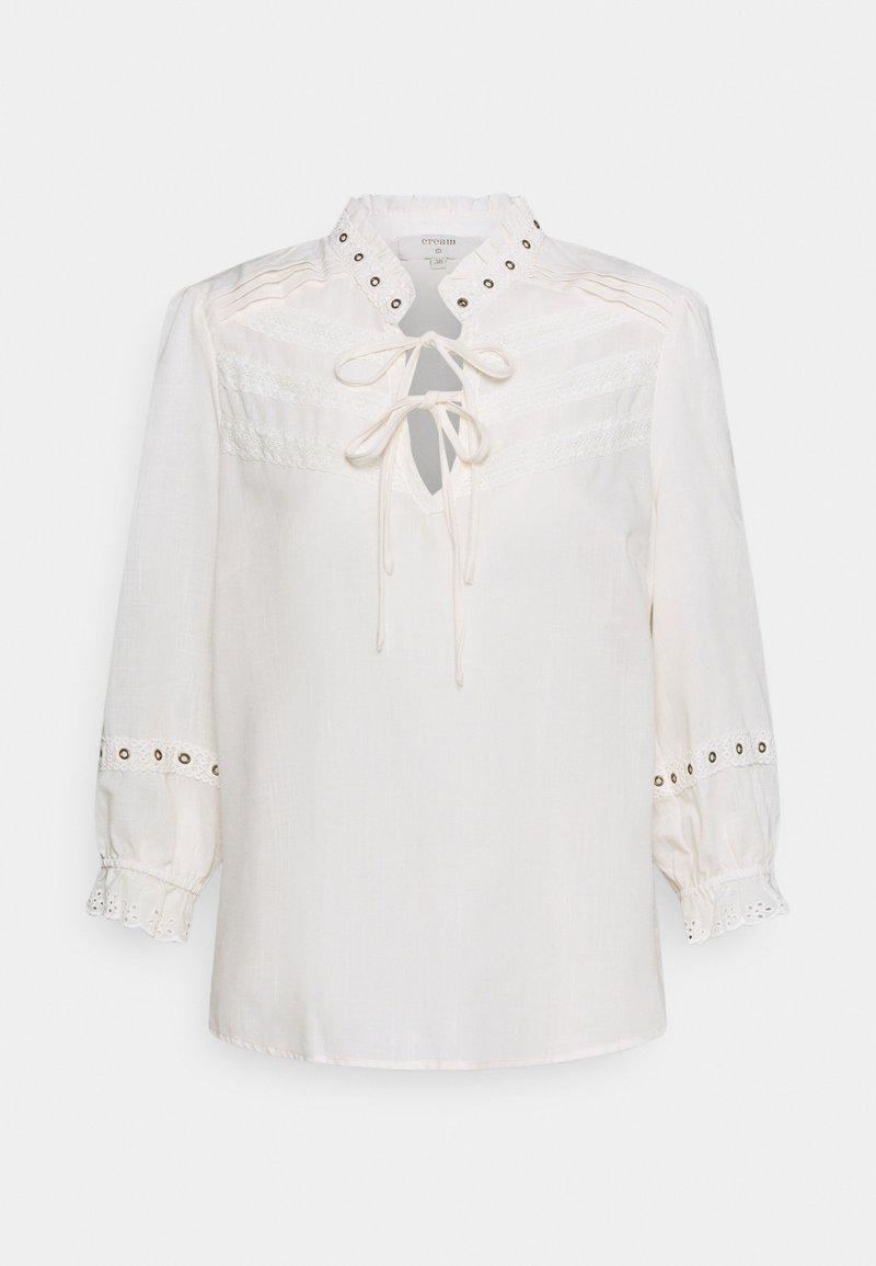Cream - CRNITTY BLOUSE - Long sleeved top - eggnog