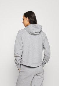 Nike Sportswear - Cardigan - dk grey heather/black - 2