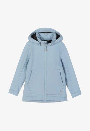 ESPOO - Soft shell jacket - foggy blue