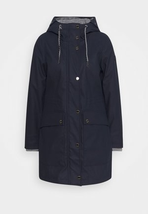 PADDED RAINCOAT - Parkatakki - sky captain blue
