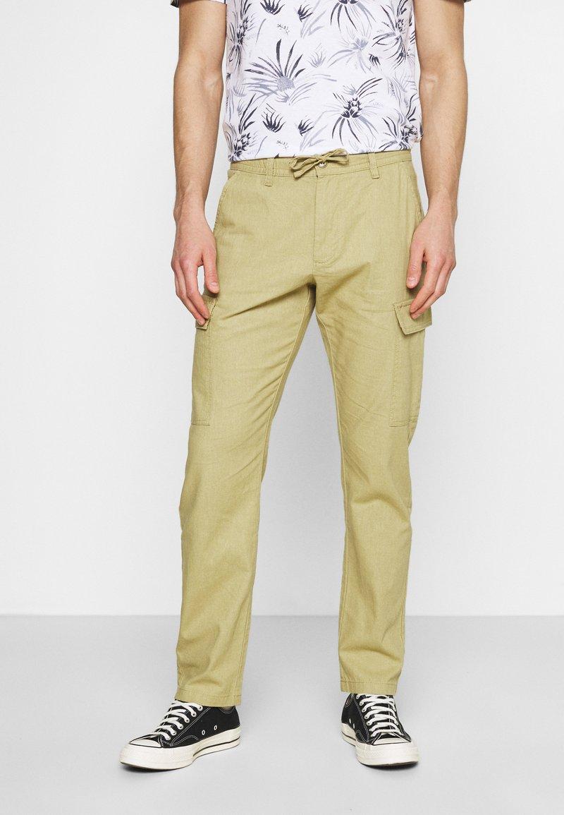 INDICODE JEANS - LASSO - Pantaloni cargo - khaki