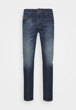 D-STRUKT - Slim fit jeans - dark-blue denim