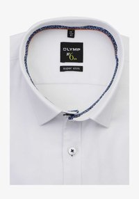 OLYMP - OLYMP NO. SIX SUPER SLIM HEMD LANGARM STRUKTUR WEIFL - Formal shirt - weifl - 1
