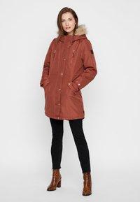 Vero Moda - VMTRACK EXPEDITION - Winter coat - brown - 1