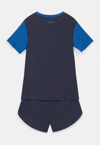 adidas Performance - SET  - Print T-shirt - blue/legink/white - 1
