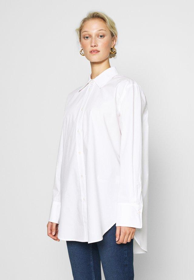 BONNE - Button-down blouse - white