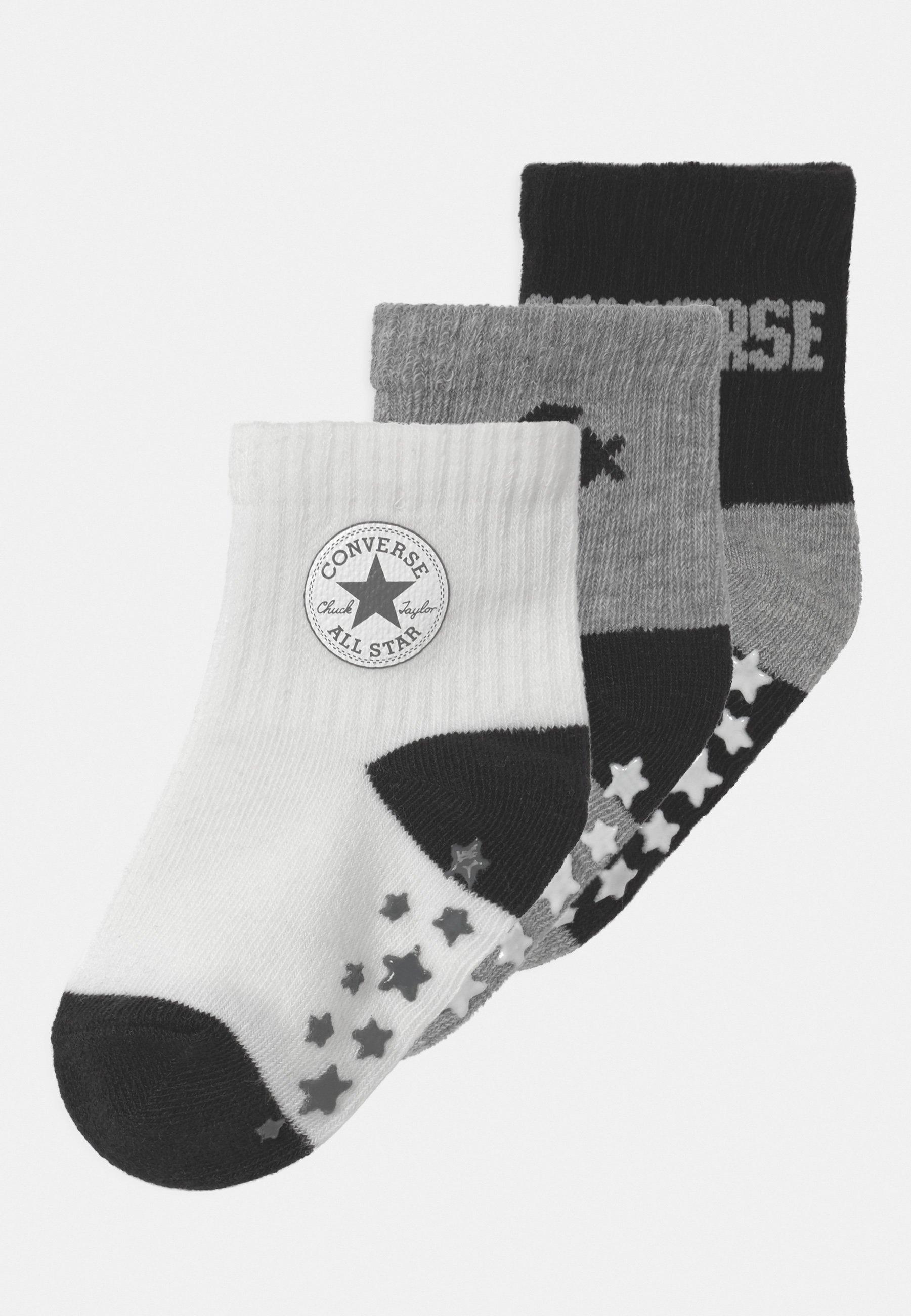 Kinder CONVERSE LOGO INFANT TODDLER QUARTER 3 PACK UNISEX - Socken