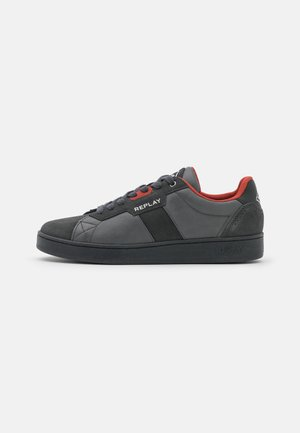 REFINED - Trainers - grey/red