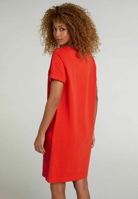 Oui - Jersey dress - red violett - 2