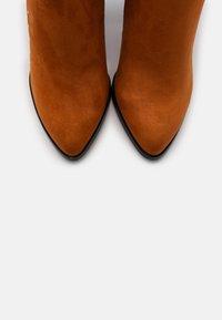 Even&Odd - High heeled boots - cognac - 5